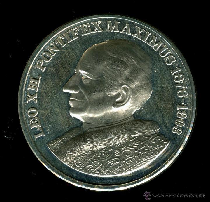 Leo Xiii Pontifex Maximus 1878 1903 483 Gram Comprar Monedas De