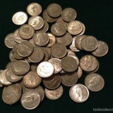 Monedas Juan Carlos I: MONEDAS UNA PESETA JUAN CARLOS I 1985-89. Lote 53964725