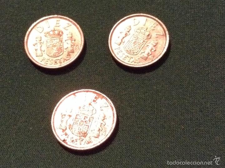 NUEVE MONEDAS 10 PESETAS 1983 (Numismática - España Modernas y Contemporáneas - Juan Carlos I)