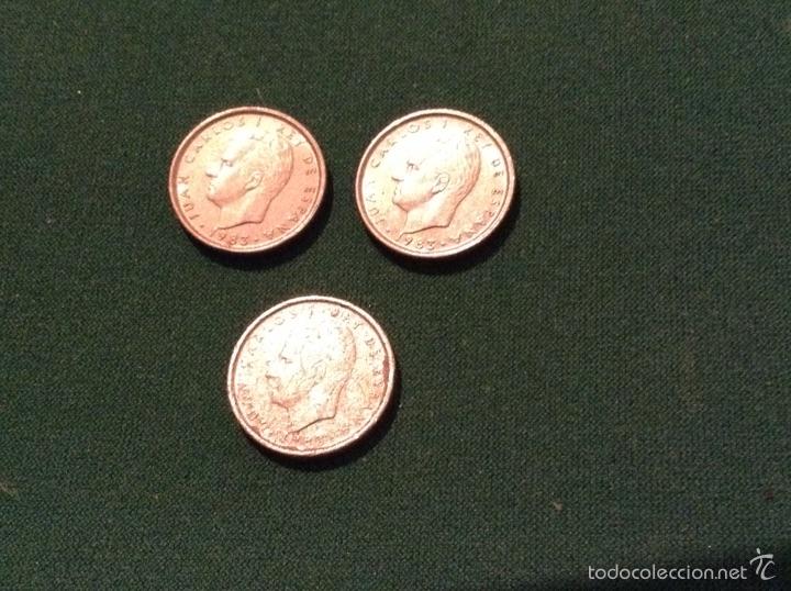 Monedas Juan Carlos I: Nueve monedas 10 pesetas 1983 - Foto 2 - 53964925