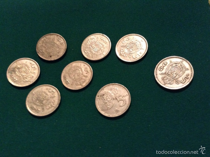 Monedas Juan Carlos I: Moneda 5 pesetas Juan Carlos I - Foto 3 - 53964804