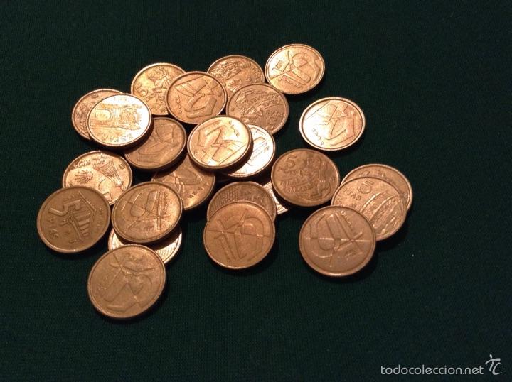 Monedas Juan Carlos I: Monedas 5 pesetas 1992-9397-98 - Foto 2 - 53964893