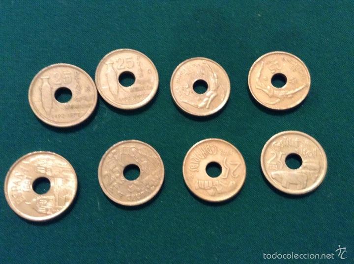 MONEDAS 25 PESETAS (Numismática - España Modernas y Contemporáneas - Juan Carlos I)