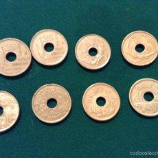 Monedas Juan Carlos I: MONEDAS 25 PESETAS. Lote 53964969