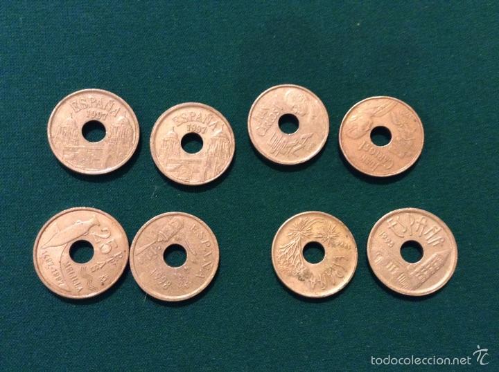 Monedas Juan Carlos I: Monedas 25 pesetas - Foto 2 - 53964969