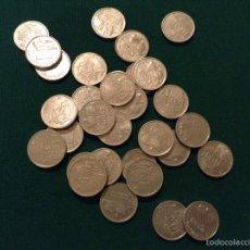 Monedas Juan Carlos I: LOTE DE 30 MONEDAS 1 PESETA 1995. Lote 53987296