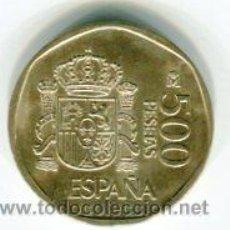 Monedas Juan Carlos I: 500 PESETAS JUAN CARLOS I AÑO 1989. Lote 54062614