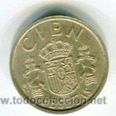 Monedas Juan Carlos I: 100 PESETAS JUAN CARLOS I AÑO 1985 LIS ABAJO. Lote 54092222