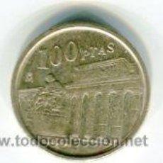 Monnaies Juan Carlos I: 100 PESETAS JUAN CARLOS I AÑO 1994 LIS ABAJO. Lote 54180219
