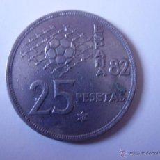 Monedas Juan Carlos I: 25 PESETAS,JUAN CARLOS I MUNDIAL 82, 1980 *82. Lote 54386059