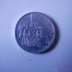 Monedas Juan Carlos I: 1 PESETA,JUAN CARLOS I 1990 ALU. Lote 54386175