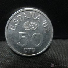 Monedas Juan Carlos I: 50 CENTIMOS 1980 80 JUAN CARLOS I MUNDIAL 82 EBC. Lote 54401053