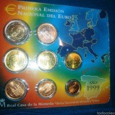 Monedas Juan Carlos I: SET EUROS 1999. Lote 54473393