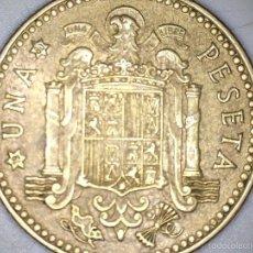 Monedas Juan Carlos I: MONEDA 1 PESETA 1975 80* CIRCULADA USADA. Lote 55150464