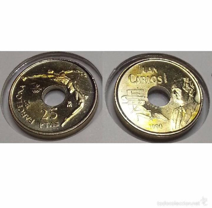25 PESETAS 1990 REY SC (Numismática - España Modernas y Contemporáneas - Juan Carlos I)