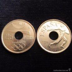 Monedas Juan Carlos I: 25 PESETAS 1991 EMBLEMA SC. Lote 55794337