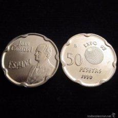 Monedas Juan Carlos I: 50 PESETAS 1990 REY SC. Lote 73698146