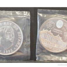 Monedas Juan Carlos I: 2000 PESETAS 1995 PRESIDENCIA CONSEJO U.E PLATA ESPAÑA EN BOLSA ORIGINAL. Lote 56595597