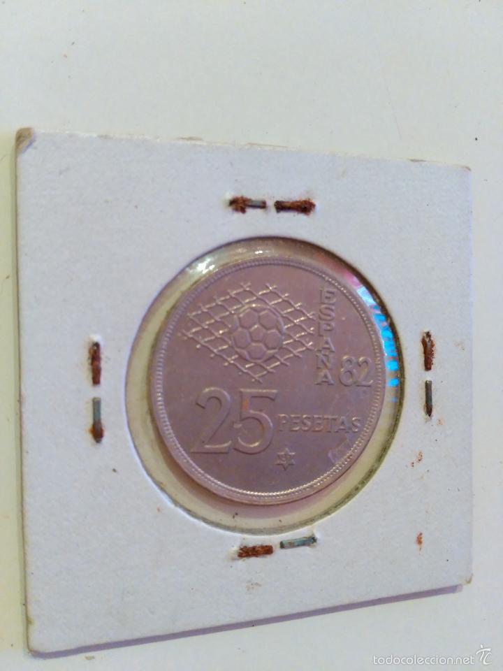 Monedas Juan Carlos I: MONEDA ESPAÑOLA veinticinco PESETAS. JUAN CARLOS I. 1980 (25 PESETAS) - Foto 2 - 56730969