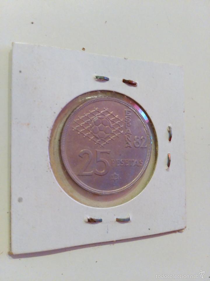 Monedas Juan Carlos I: MONEDA ESPAÑOLA veinticinco PESETAS. JUAN CARLOS I. 1980 (25 PESETAS) - Foto 2 - 56731212