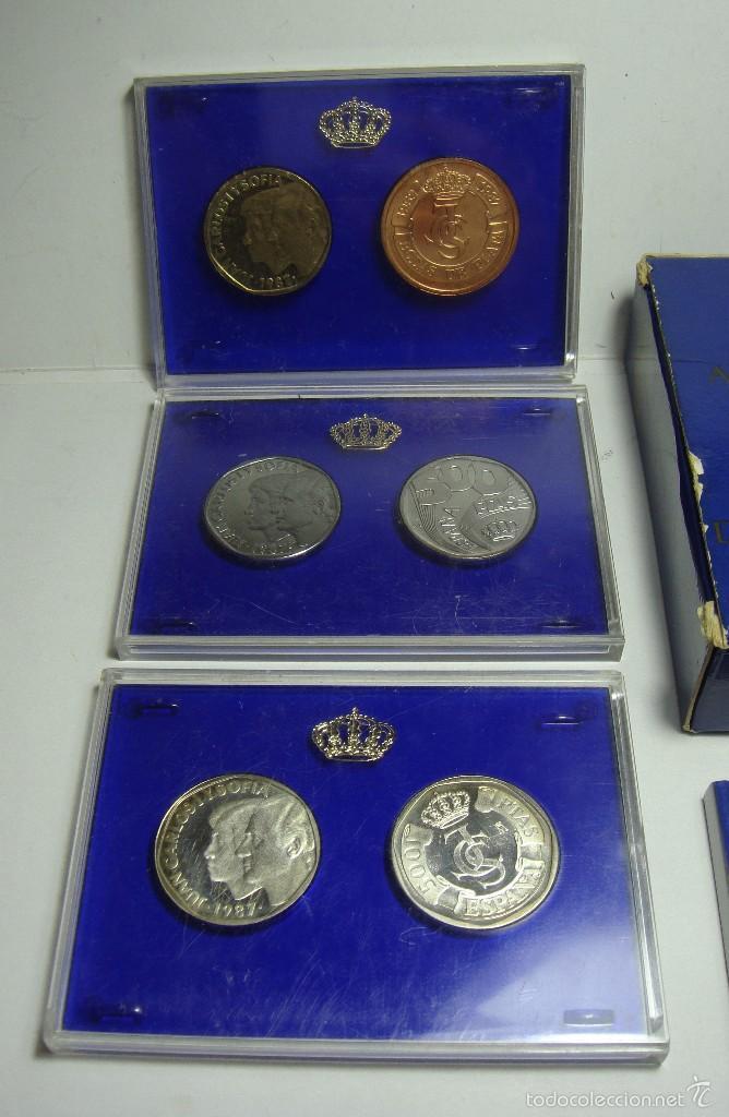 Monedas Juan Carlos I: PRUEBAS DE LA FÁBRICA DE MONEDA Y TIMBRE: XXV aniversario de la boda de los Reyes de España - Foto 2 - 56869129