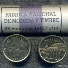 Monedas Juan Carlos I: CARTUCHO ORIGINAL FNMT COMPLETO DE 100 PESETAS DE 1994 FLOR DE CUÑO. Lote 57043232