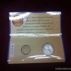 Monedas Juan Carlos I: 2000 PTAS CARTERA 2001 FNMT. Lote 57852584