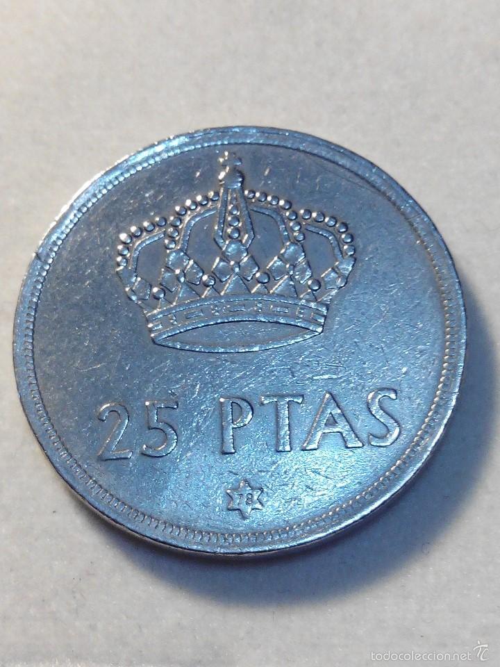 MONEDA 25 PESETAS JUAN CARLOS I 1975*78 MBC (Numismática - España Modernas y Contemporáneas - Juan Carlos I)