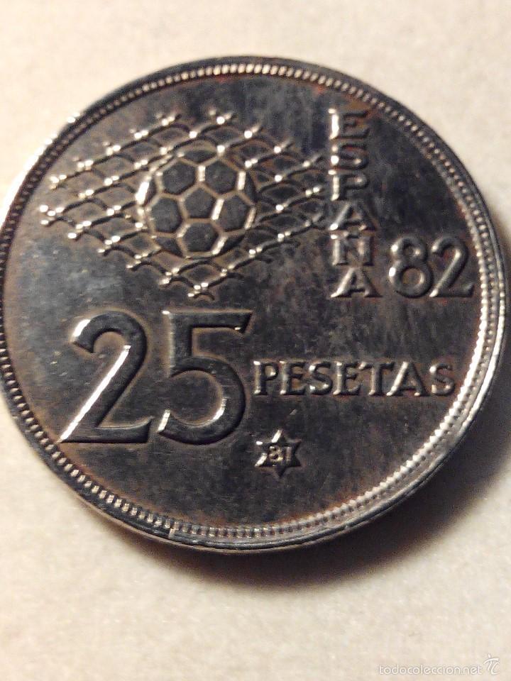 MONEDA 25 PESETAS JUAN CARLOS I 1980 *81 MBC (Numismática - España Modernas y Contemporáneas - Juan Carlos I)