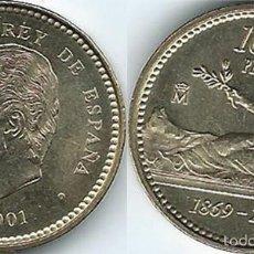 Monete Juan Carlos I: ESPAÑA 100 PESETAS 2001 S/C 1869 -2001 ÚLTIMAS PESETAS. Lote 266646573