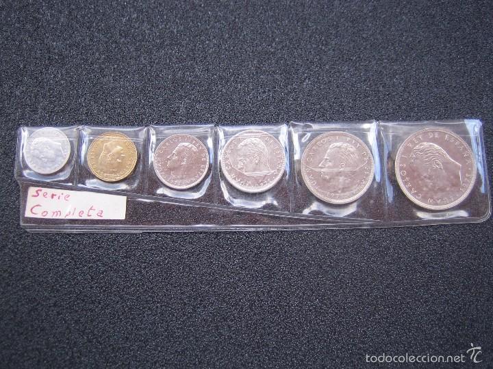 JUAN CARLOS I 1975. LOTE DE 6 MONEDAS (Numismática - España Modernas y Contemporáneas - Juan Carlos I)