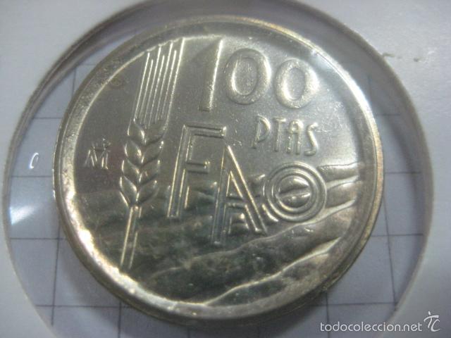 Monedas Juan Carlos I: VARIANTE O ERROR DE ACUÑACIÓN EN 100 PESETAS DE 1995 (CANTO ANCHO) - Foto 6 - 59514523