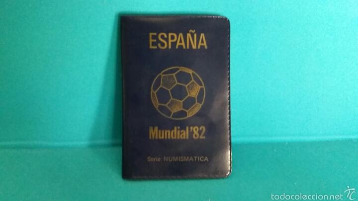 SERIE NUMISMATICA MONEDAS MUNDIAL 82 ESTRELLA 80 (Numismática - España Modernas y Contemporáneas - Juan Carlos I)