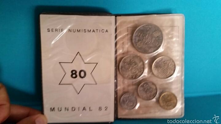 Monedas Juan Carlos I: SERIE NUMISMATICA MONEDAS MUNDIAL 82 ESTRELLA 80 - Foto 2 - 59576672