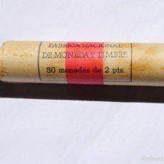 Monedas Juan Carlos I: CARTUCHO 50 MONEDAS 2 PTAS., SIN CIRCULAR, AÑO 1982. Lote 59769080