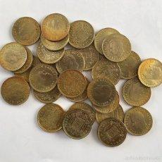 Monedas Juan Carlos I: LOTE 32 MONEDAS ESPAÑA 1 PESETA JUAN CARLOS I TRANSICIÓN *1975. Lote 60592859