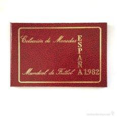 Monedas Juan Carlos I: COLECCIÓN DE MONEDAS CONMEMORATIVAS DEL MUNDIAL FÚTBOL EN ESPAÑA 1982 PTS 100 50 25 5 1 0,50 PESETAS. Lote 99991800