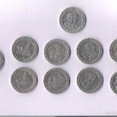 Monedas Juan Carlos I: 9 MONEDAS 200 PESETAS JUAN CARLOS I DIFERENTES. Lote 61329211
