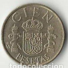 Monedas Juan Carlos I: 100 PESETAS. 1983.. Lote 61634956