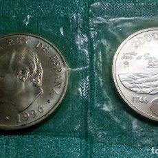Monedas Juan Carlos I: ESPAÑA 2000 PESETAS 1996 CONMEMORATIVA 250 ANV. NACIMIENTO GOYA - PLATA 925´-FUNDA. Lote 83191511