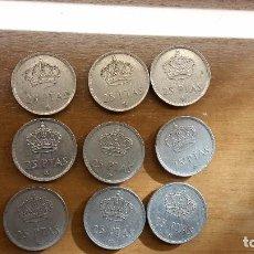Monedas Juan Carlos I: LOTE DE MONEDAS DE 25 PESETAS. Lote 62207080