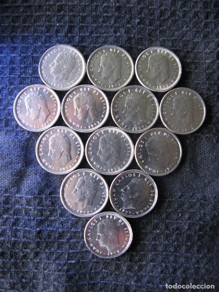 Monedas Juan Carlos I: 13 ARRAS. MONEDAS 10 PTAS JUAN CARLOS I 1992 - Foto 2 - 63151810