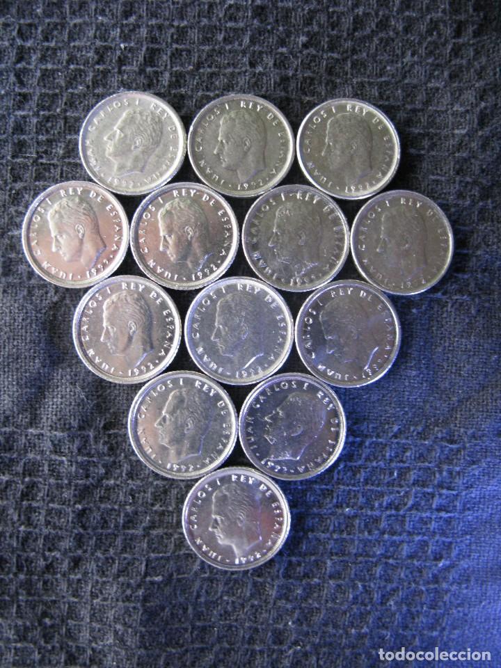 Monedas Juan Carlos I: 13 ARRAS. MONEDAS 10 PTAS JUAN CARLOS I 1992 - Foto 3 - 63151810