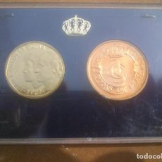 Monedas Juan Carlos I: 25 ANIVERSARIO BODAS JUAN CARLOS Y SOFIA 1987 ESTUCHE. Lote 207260660