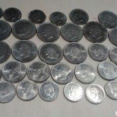 Monedas Juan Carlos I: LOTAZO DE PESETAS. MONEDAS DE JUAN CARLOS I. 900 PTS.DE FACIAL. MUY BONITAS.. Lote 63814109