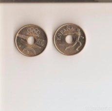 Monedas Juan Carlos I: BONITA MONEDA DE 25 PESETAS DE 1990 S/C LA DE LA FOTO VER TODOS MIS LOTES DE MONEDAS Y BILLETES. Lote 120794475