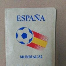 Monedas Juan Carlos I: CARTERA DE MONEDAS MUNDIAL 82 SERIE NUMISMATICA. Lote 65873958