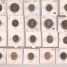 Monedas Juan Carlos I: LOTE DE 20 MONEDAS .SIN CIRCULAR - LAS DE LAS FOTOS VER TODOS MIS LOTES DE MONEDAS. Lote 66202530