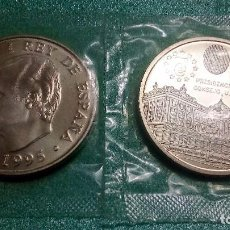 Monedas Juan Carlos I: ESPAÑA 2000 PESETAS 1995 CONMEMORATIVA PRESIDENCIA DEL CONSEJO UNION EUROPEA - PLATA 925´-FUNDA. Lote 106617036