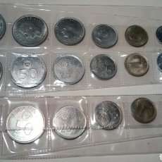 Monedas Juan Carlos I: LOTE DE MONEDAS DE JUAN CARLOS I. 3 SERIES MUNDIAL 1982. *80. 100 PTS A 50 CÉNT.. Lote 68342866